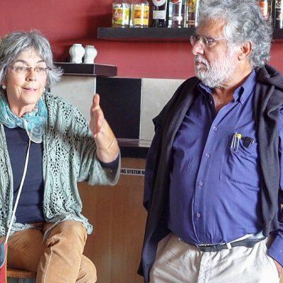 Ana Nunes e Carlos Abafa
